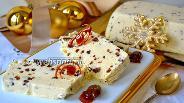 Фото рецепта Семифреддо с белым шоколадом