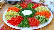 Фото рецепта Салат «Козёл в огороде»
