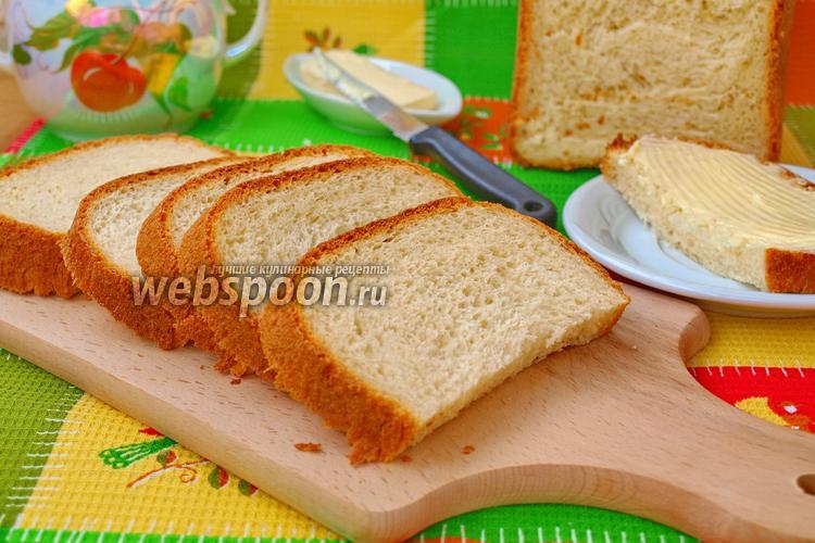 Фото Хлеб на кефире в хлебопечке