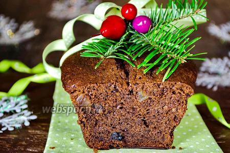 Шоколадный кекс с цикорием