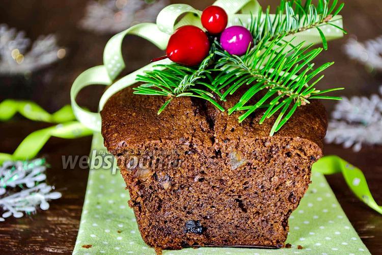 Фото Шоколадный кекс с цикорием