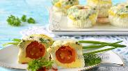 Фото рецепта Паровые яичные кексы в мультиварке