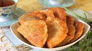 Фото рецепта Сырные пирожки с мясом жареные