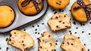 Фото рецепта Кексы с шоколадными каплями