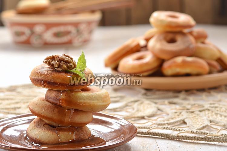 Фото Пончики на молоке