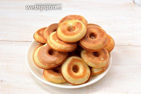 Пончики готовы.
