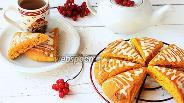 Фото рецепта Тыквенные сконы с белым шоколадом
