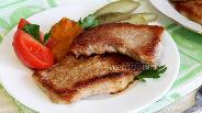 Фото рецепта Лангет из свинины