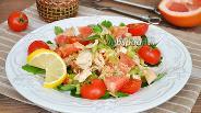 Фото рецепта Тайский салат с курицей и грейпфрутом