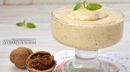 Фото рецепта Карамельно-ореховый крем на сметане