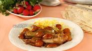 Фото рецепта Курица с каштанами