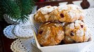 Фото рецепта Мягкое печенье с клюквой