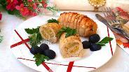 Фото рецепта Куриные рулетики с ананасом