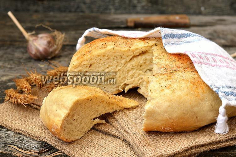 Фото Пшеничный хлеб в мультиварке