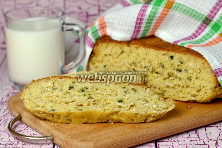 Фото Бездрожжевой хлеб в мультиварке