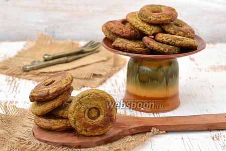 Пончики из печени