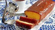 Фото рецепта Апельсиновый кекс на рисовой муке