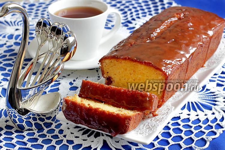 Фото Апельсиновый кекс на рисовой муке