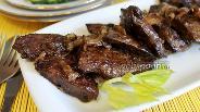 Фото рецепта Отбивные из говяжьей печени