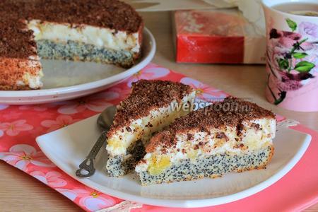 Маковый торт «Киевляночка»