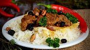 Фото рецепта Рис с бараниной на кефире