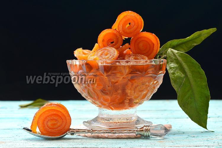 Фото Варенье из апельсиновых корок «Завитушки»