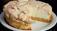 Фото рецепта Ореховый торт с меренгой