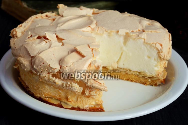 Фото Ореховый торт с меренгой