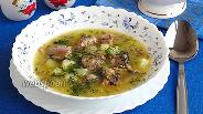 Фото рецепта Суп с консервированной сайрой