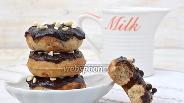 Фото рецепта Заварные пончики с корицей