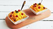 Фото рецепта Тыквенно-рисовый пудинг с клюквой
