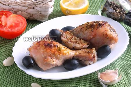 Курица с лимоном и прованскими травами