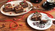 Фото рецепта Магический шоколадный пирог