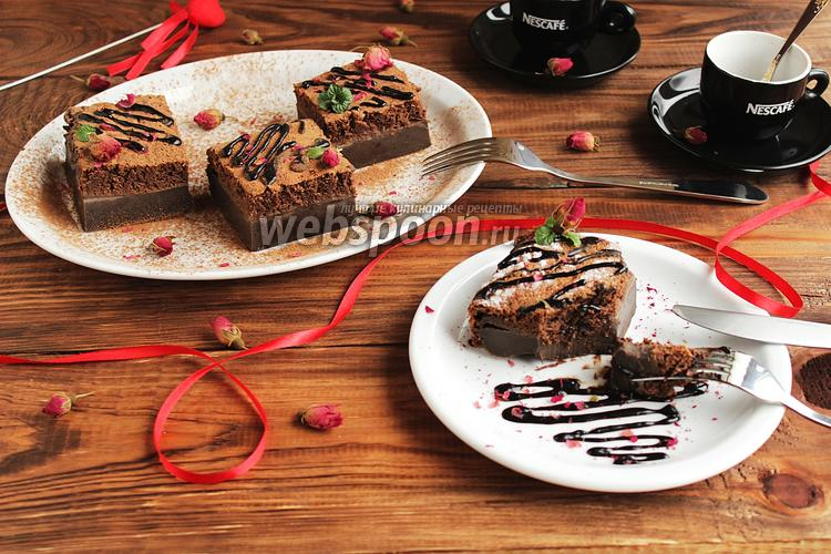 Фото Магический шоколадный пирог
