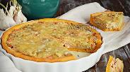 Фото рецепта Морковный пирог с форелью