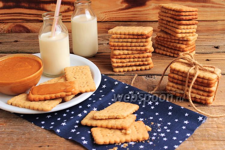 Фото Крекеры с грецкими орехами