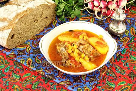 Бозбаш по-азербайджански