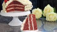 Фото рецепта Торт «Красный бархат»