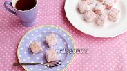 Фото рецепта Ламингтоны — пирожные в кокосовой обсыпке
