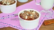 Фото рецепта Творожная запеканка с шоколадным штрейзелем