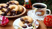 Фото рецепта Песочное печенье «Подковки»