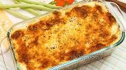 Фото рецепта Куриные голени под сметанно-сырной шапочкой