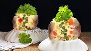 Фото рецепта Закуска из скумбрии «Калейдоскоп»