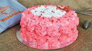 Фото рецепта Торт «Розовый»