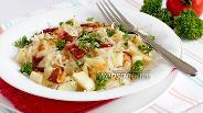 Фото рецепта Пикантный картофельный салат с беконом