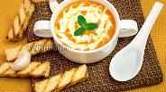 Фото рецепта Томатный суп-пюре с нутом