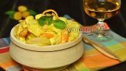 Фото рецепта Курица с кумкватами в сливочном соусе