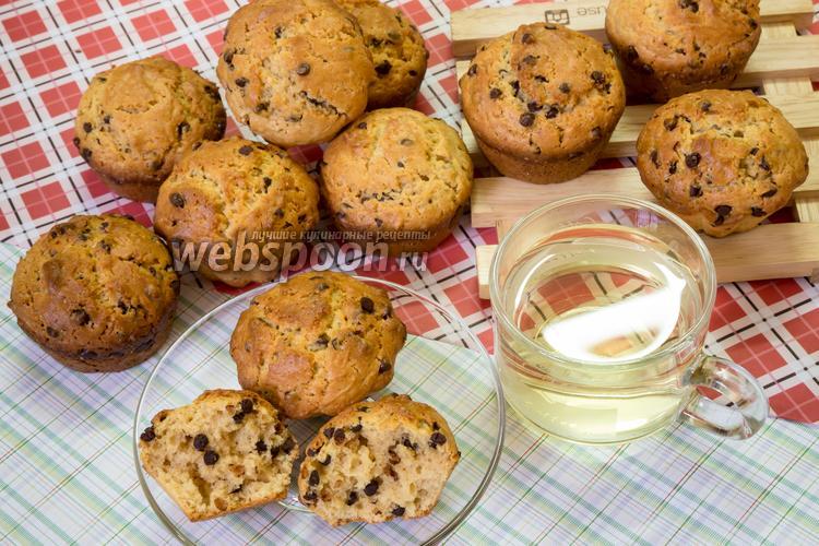 Фото Арахисовые кексы с шоколадом