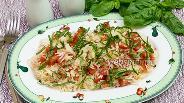 Фото рецепта Рис с помидорами и базиликом