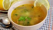 Фото рецепта Суп с консервированной горбушей